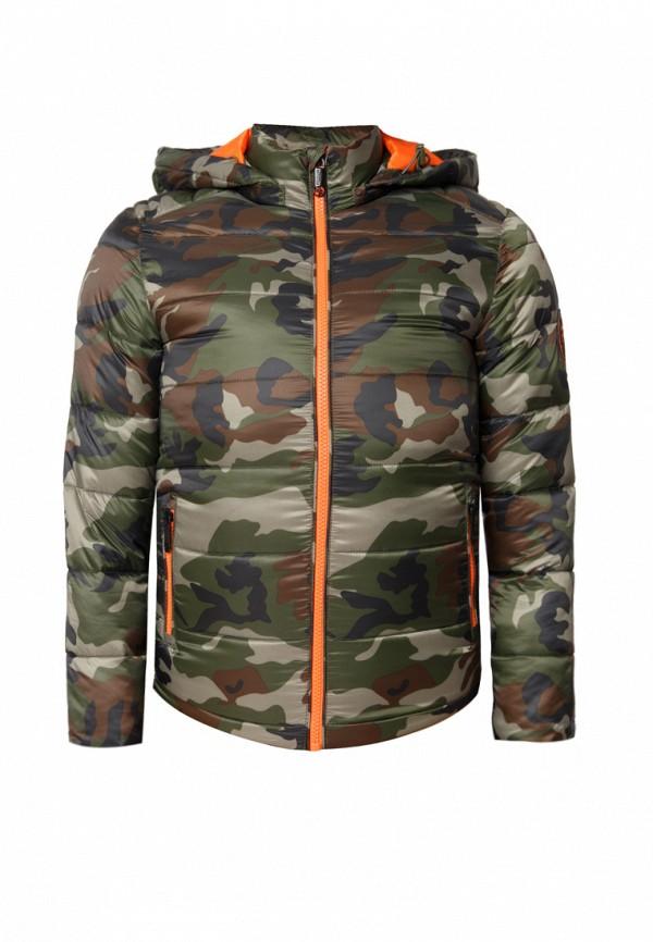 куртка finn flare для мальчика, разноцветная