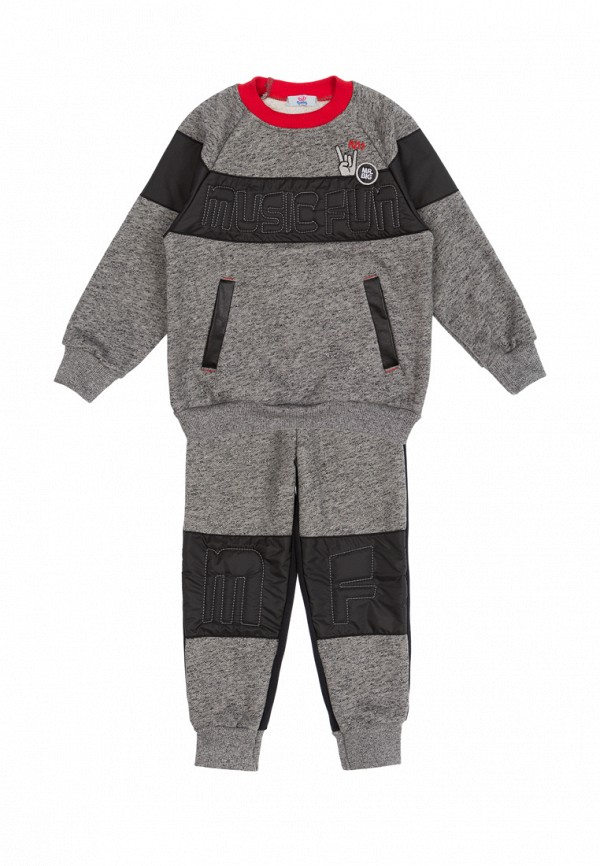 спортивный костюм bell bimbo для мальчика, серый