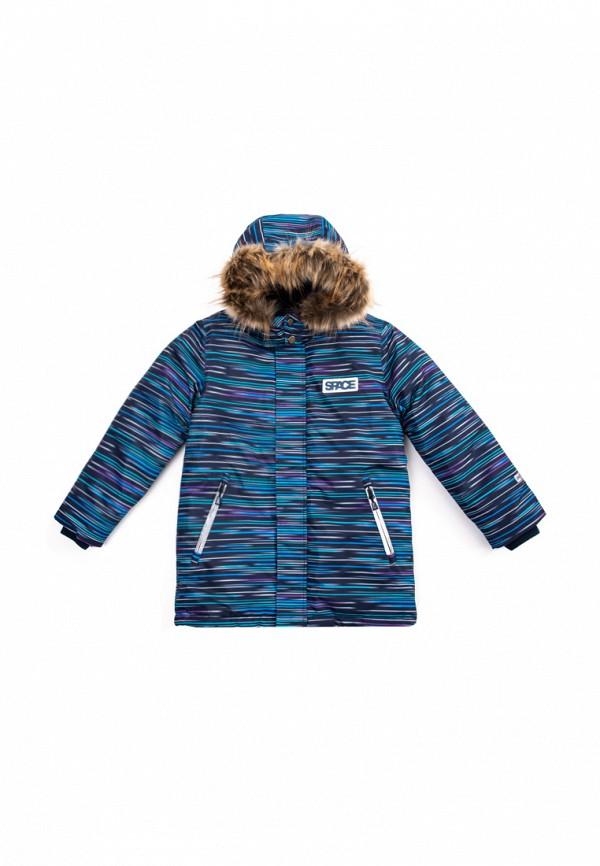 Куртка для мальчика утепленная PlayToday цвет синий