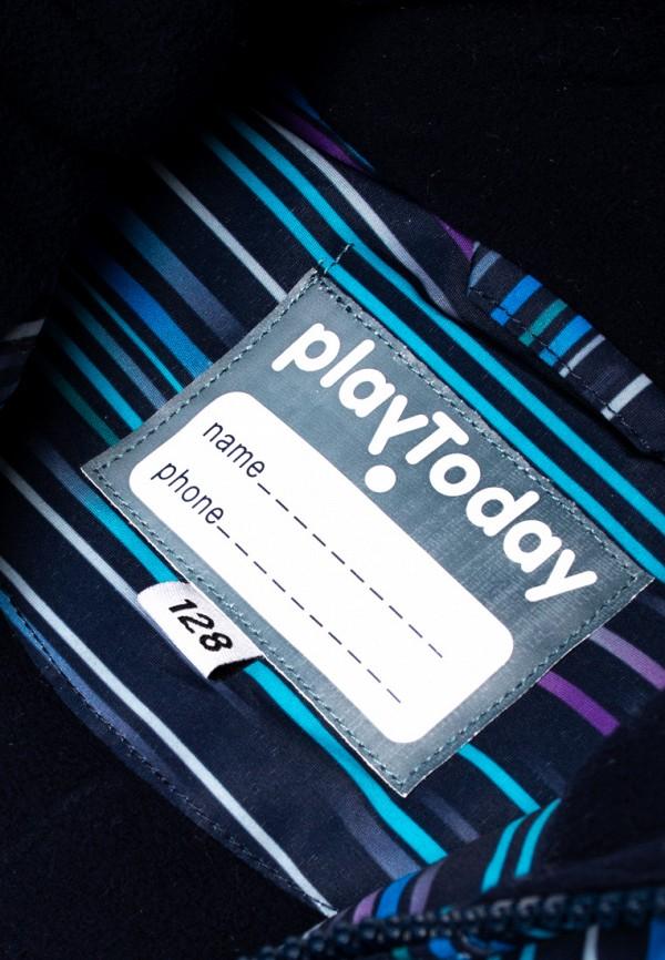 Куртка для мальчика утепленная PlayToday цвет синий  Фото 3