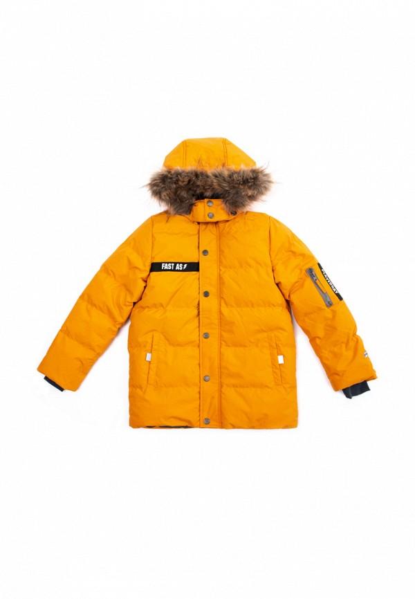 куртка playtoday для мальчика, желтая