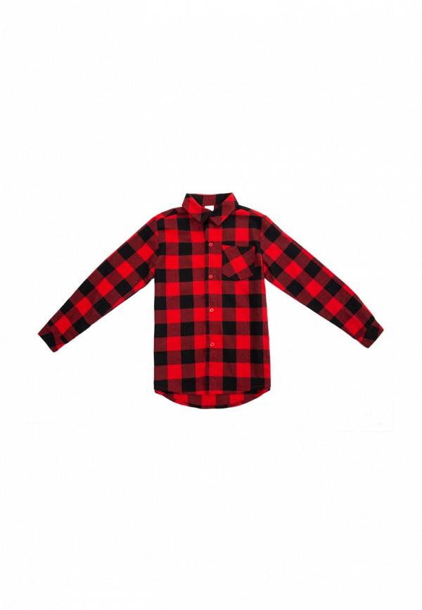 рубашка playtoday для мальчика, красная