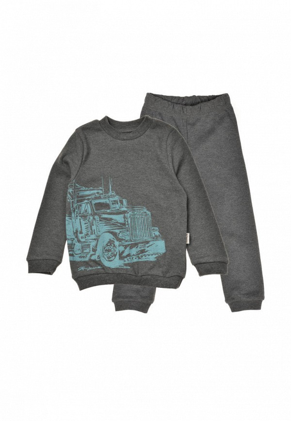 пижама robinzon для мальчика, серая