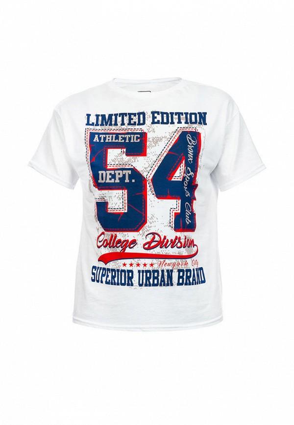 футболка с коротким рукавом elaria для мальчика, белая
