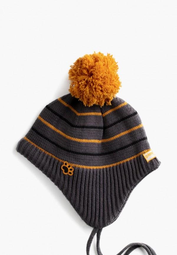 шапка playtoday для мальчика, серая