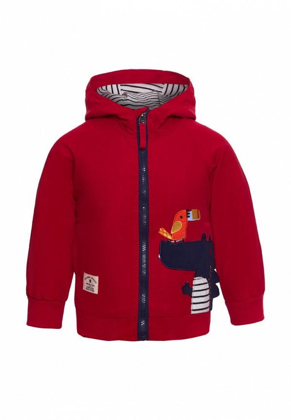 куртка moon river для мальчика, красная