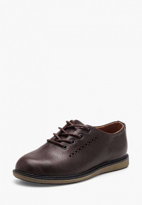 ботинки broni для мальчика, коричневые