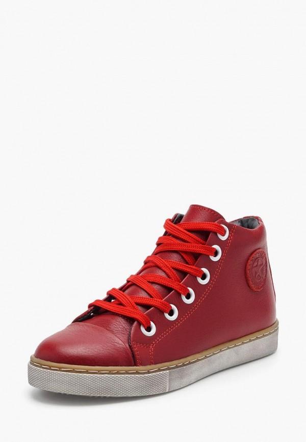 ботинки broni для мальчика, красные