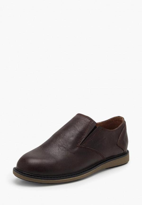 туфли broni для мальчика, коричневые