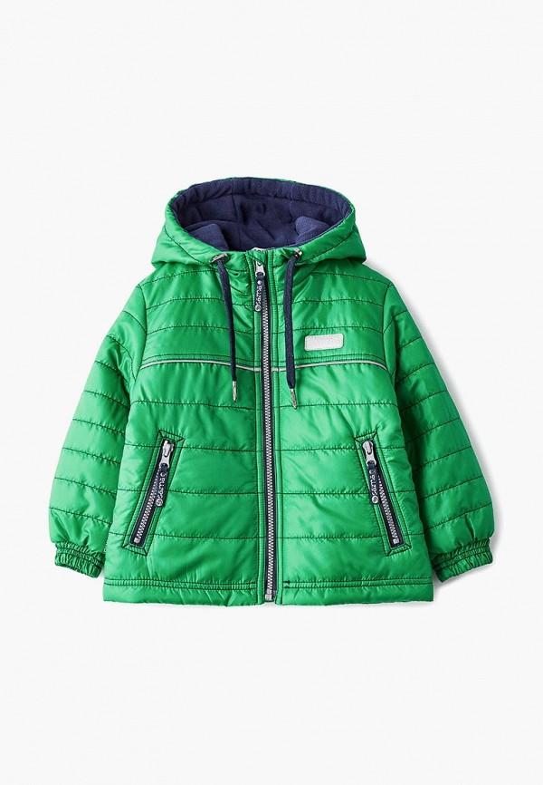куртка saima для мальчика, зеленая