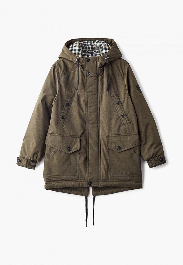 куртка saima для мальчика, хаки