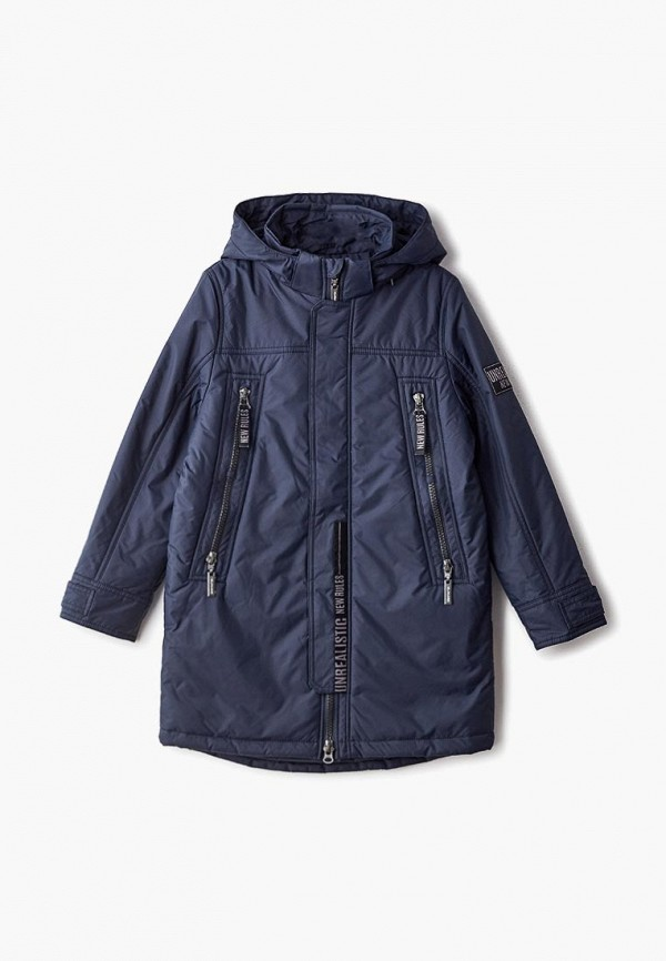 куртка alpex для мальчика, синяя