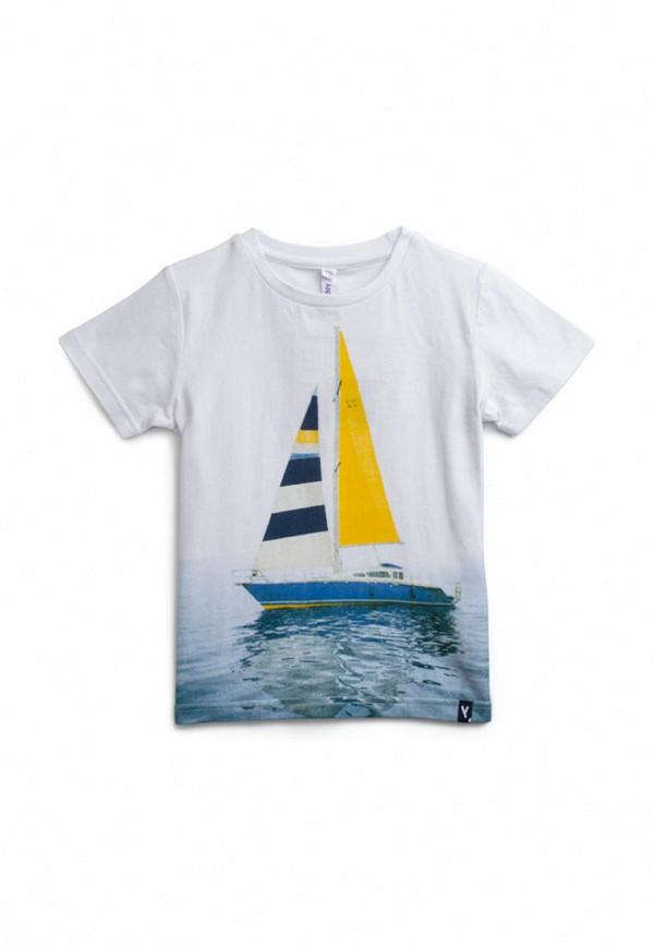 футболка playtoday для мальчика, белая
