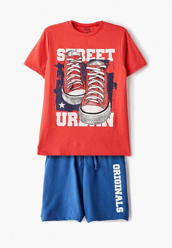 спортивные спортивный костюм elaria для мальчика, разноцветный