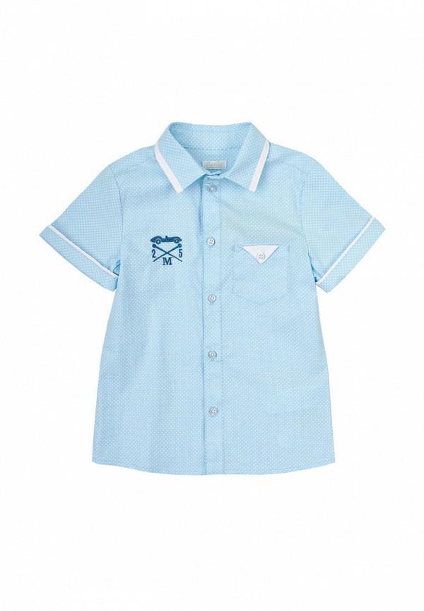 рубашка бемби для мальчика, голубая