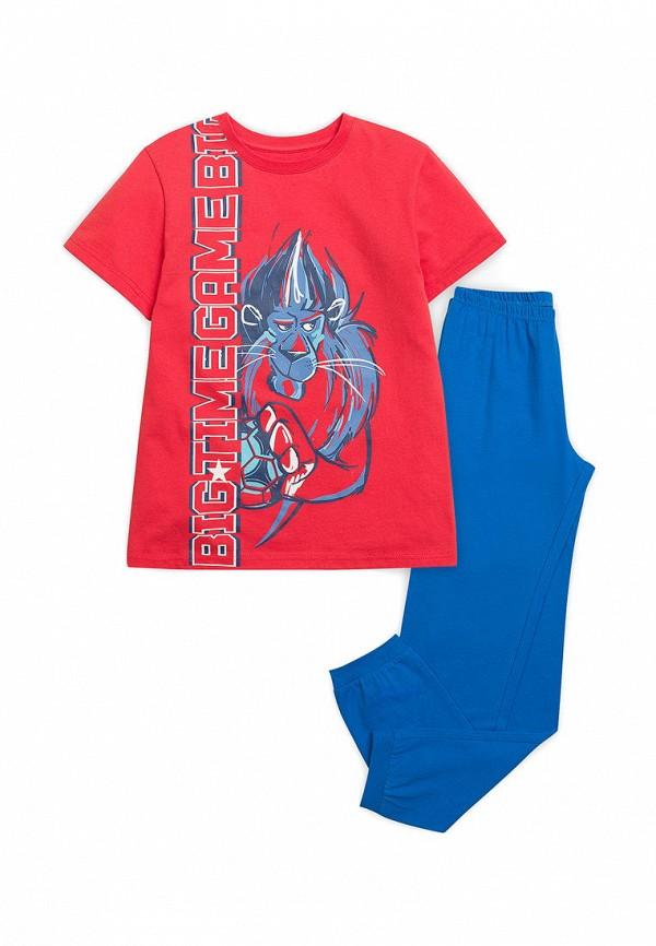 пижама pelican для мальчика, разноцветная