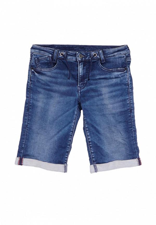 джинсовые шорты le temps des cerises для мальчика, синие