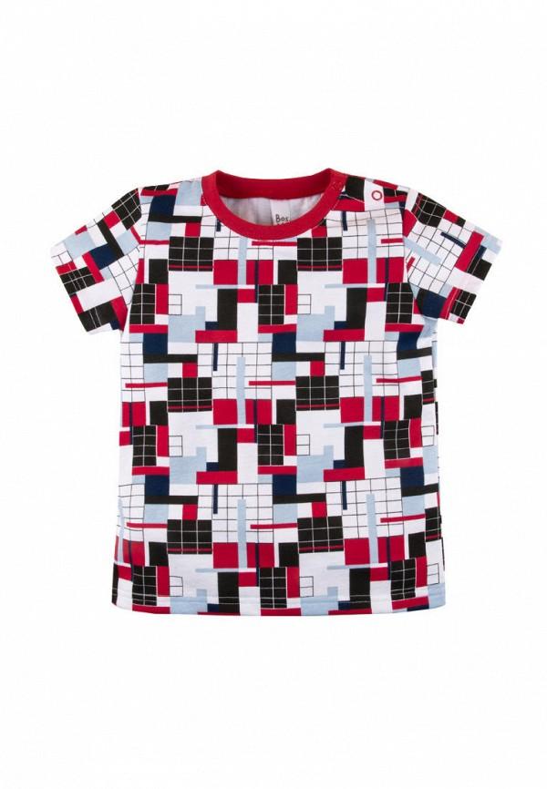 футболка с коротким рукавом bossa nova для мальчика, разноцветная