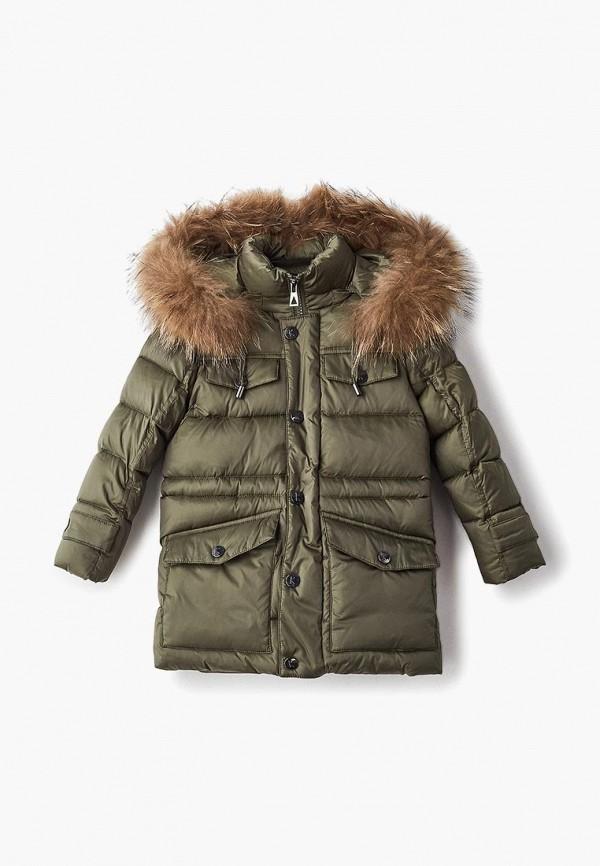 куртка kiwiland для мальчика, хаки