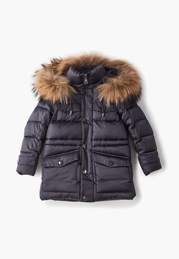 куртка kiwiland для мальчика, синяя