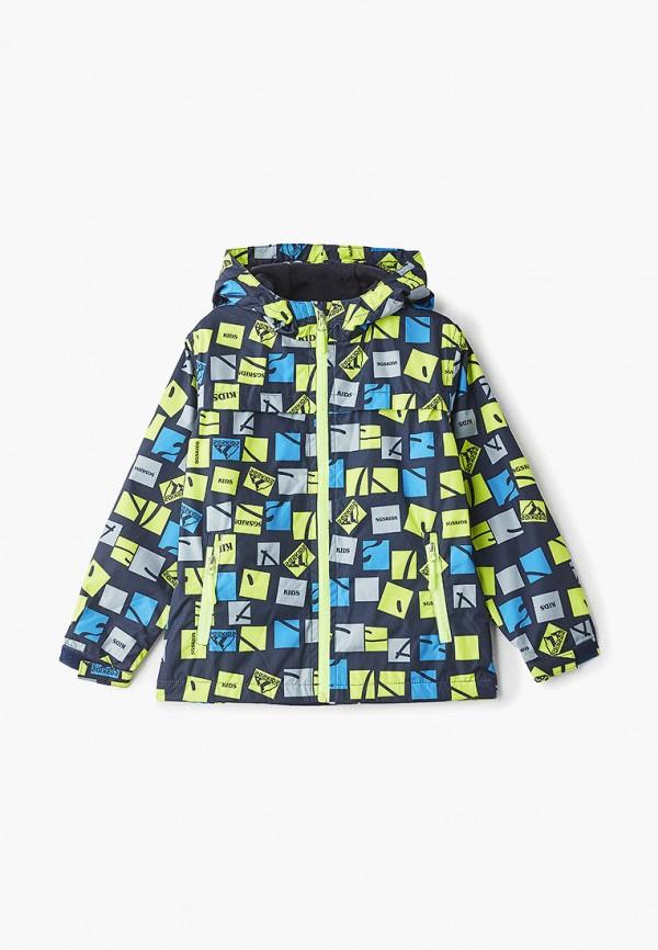 куртка moon river для мальчика, разноцветная