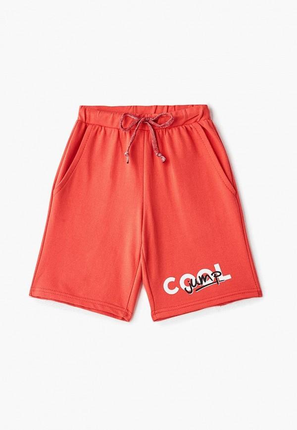спортивные спортивные шорты elaria для мальчика, красные
