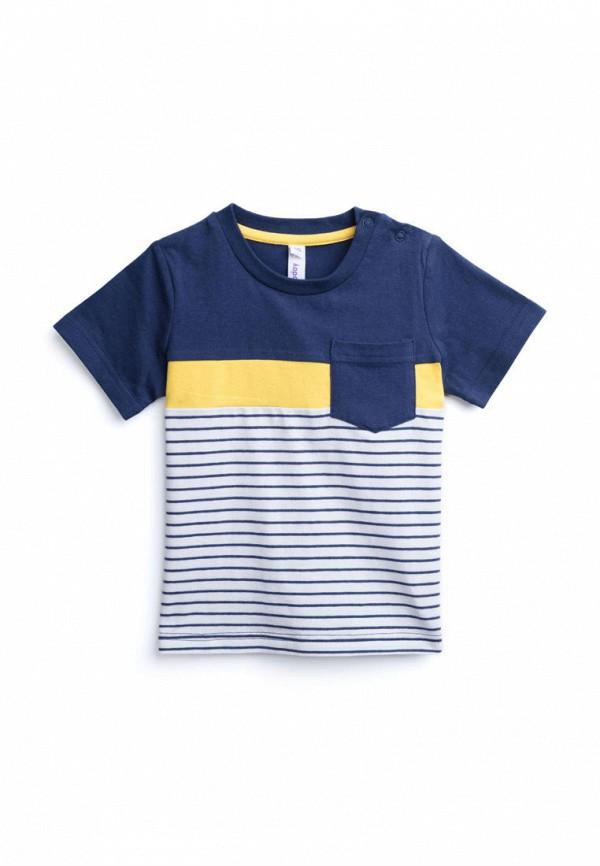 футболка с коротким рукавом playtoday для мальчика, синяя