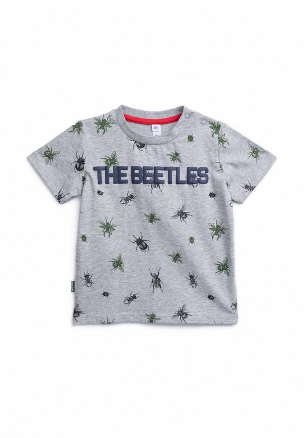 футболка с коротким рукавом playtoday для мальчика, серая