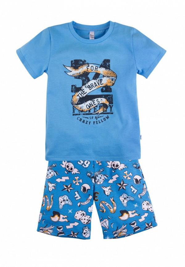 пижама bossa nova для мальчика, голубая