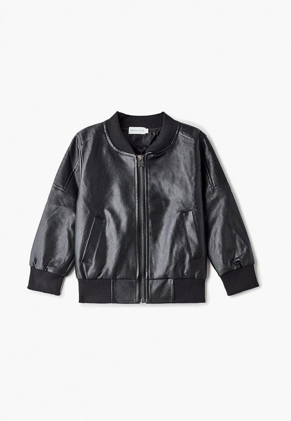 куртка moon river для мальчика, черная