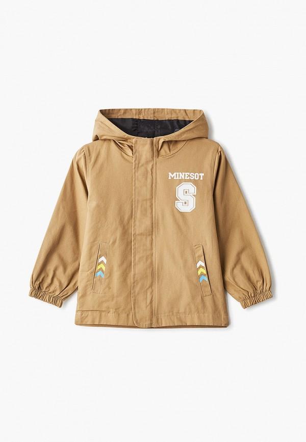 куртка moon river для мальчика, бежевая