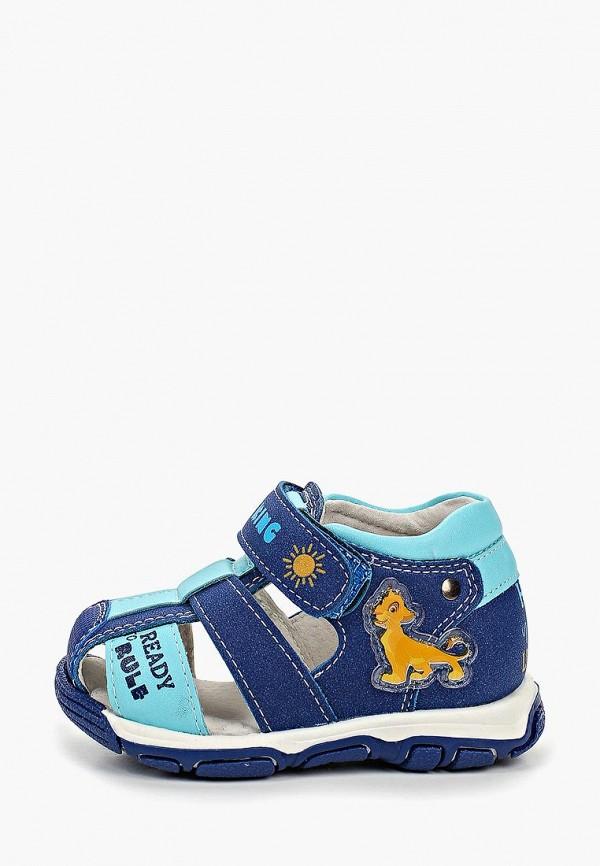 сандалии disney для мальчика, синие