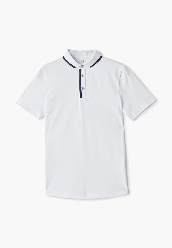 Поло для мальчика Tforma цвет белый