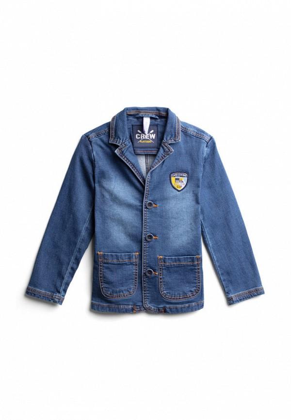 джинсовые куртка playtoday для мальчика, синяя