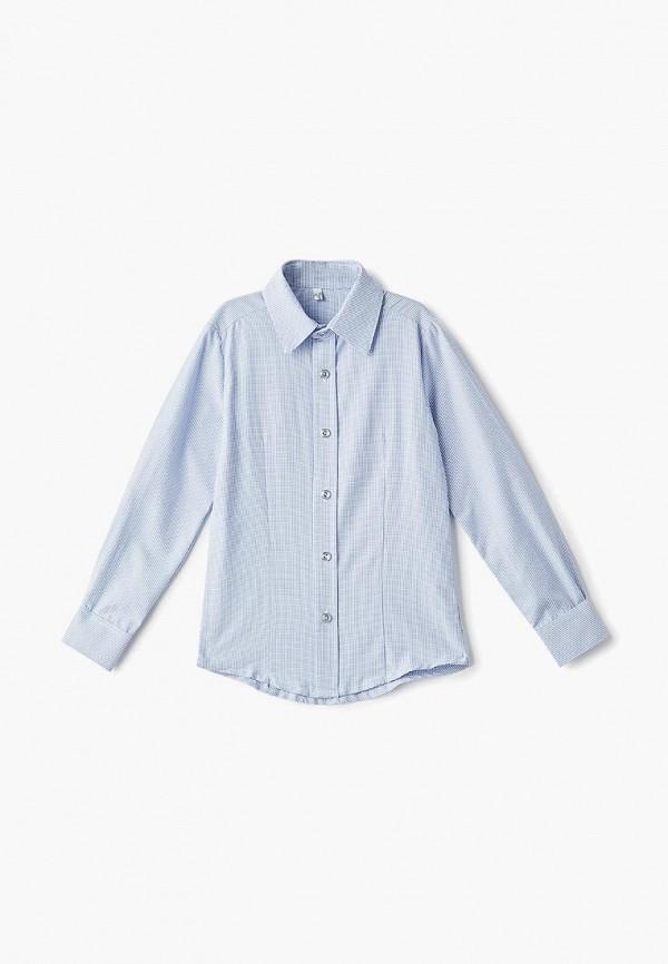 рубашка tforma для мальчика, голубая