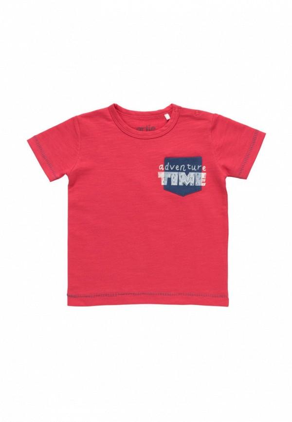 футболка с коротким рукавом artie для мальчика, красная