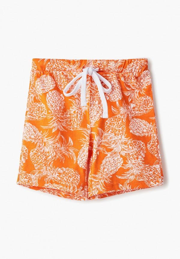 шорты elaria для мальчика, оранжевые