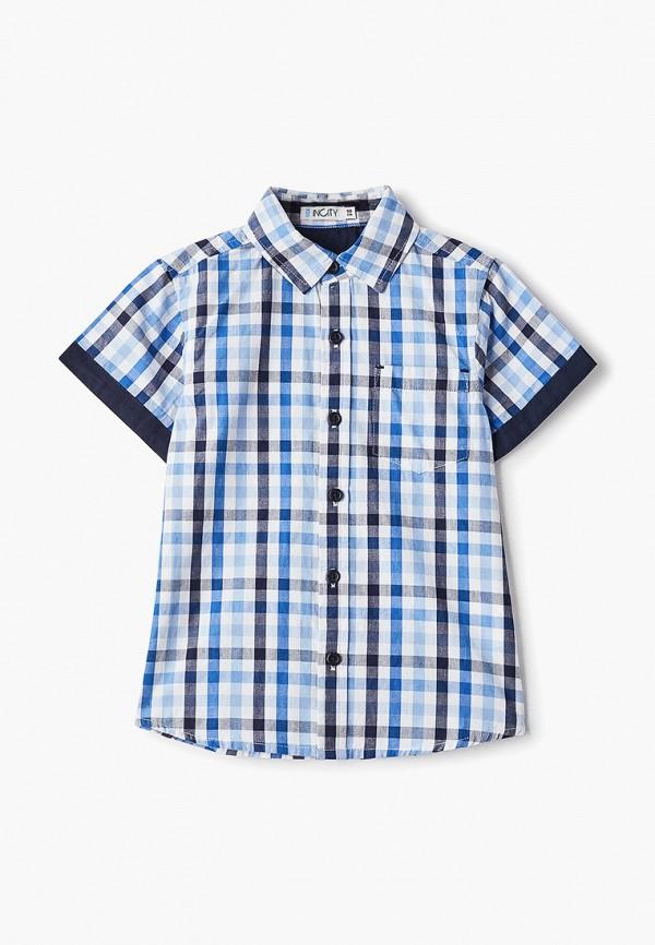 рубашка incity для мальчика, разноцветная
