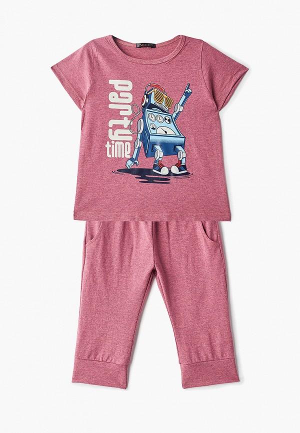 костюм archyland для мальчика, розовый