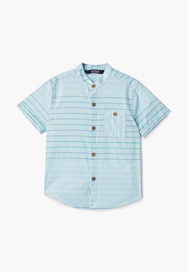 рубашка lc waikiki для мальчика, бирюзовая