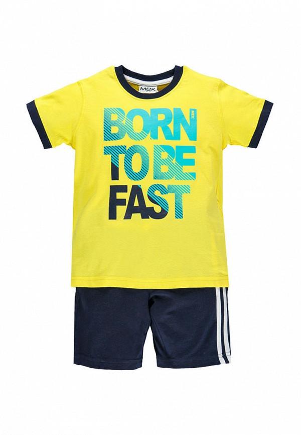 спортивные спортивный костюм mek для мальчика, разноцветный