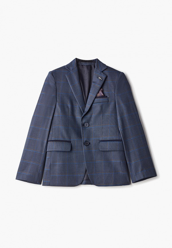 пиджак mili для мальчика, синий