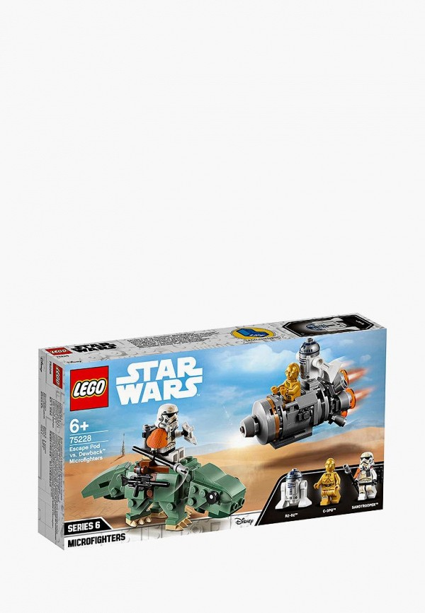 Конструктор Star Wars LEGO LEGO MP002XB00CA2 медиа lego star wars iii the clone wars classics