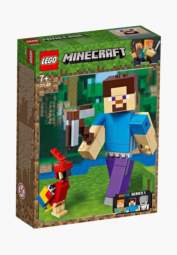 Конструктор Minecraft LEGO LEGO MP002XB00CA4 конструктор lego любители активного отдыха 60202