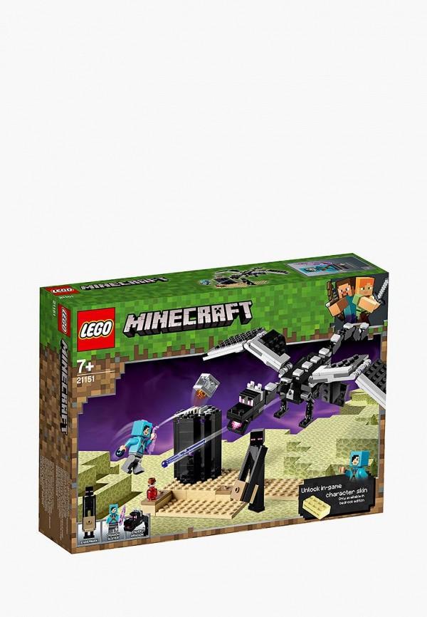 Конструктор Minecraft LEGO LEGO MP002XB00CA7 конструктор lego minecraft последняя битва 222 дет 21151