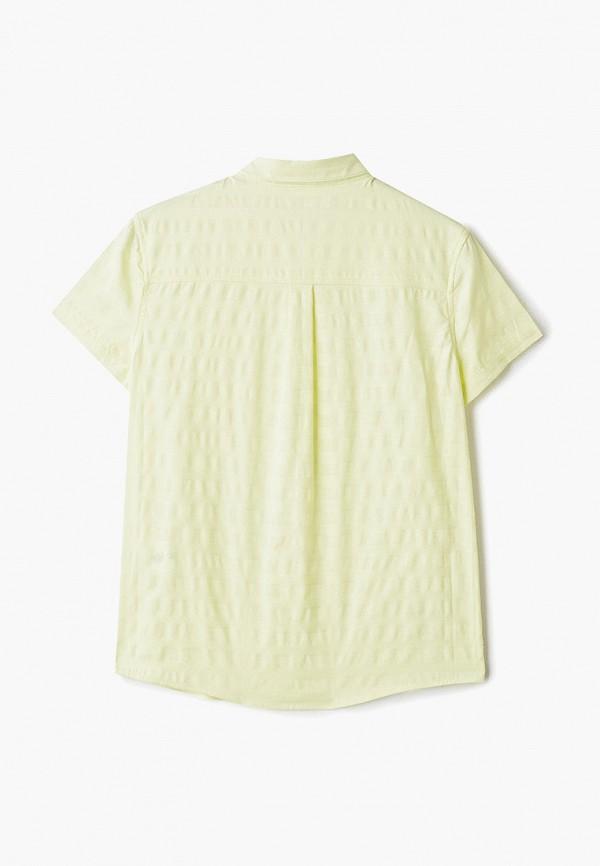 Фото 2 - Рубашку Infunt желтого цвета