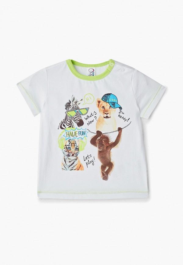 футболка с коротким рукавом pixo для мальчика, белая