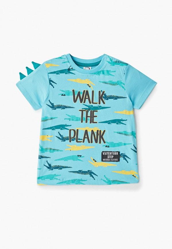 рубашка с коротким рукавом pixo для мальчика, голубая