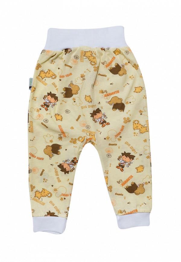 брюки клякса для мальчика, желтые