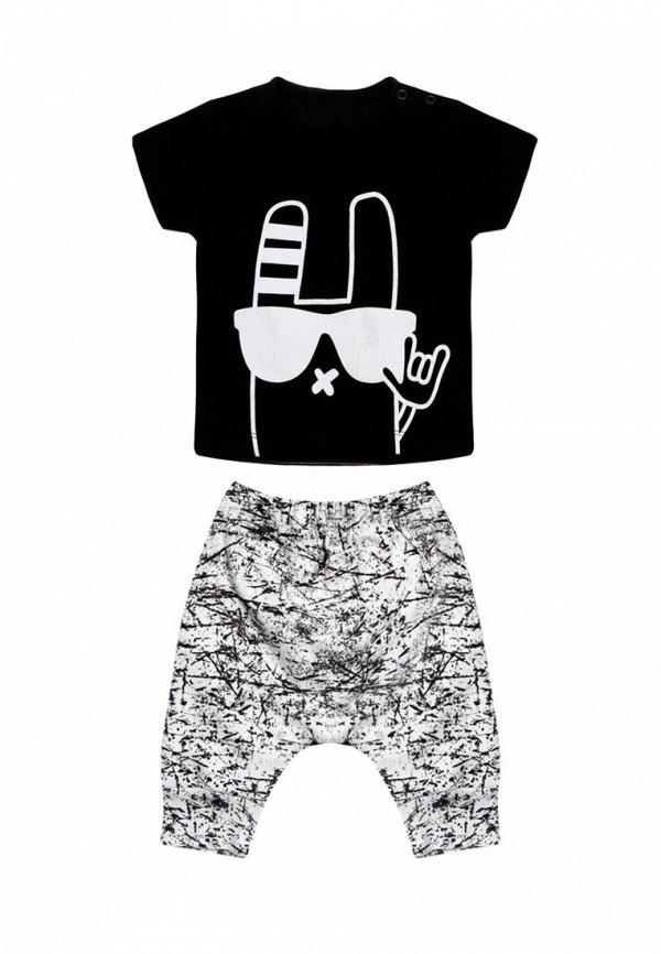 спортивные спортивный костюм rbc для мальчика, черный